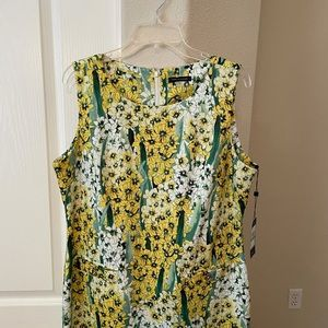 Tommy Hilfiger yellow & green floral print